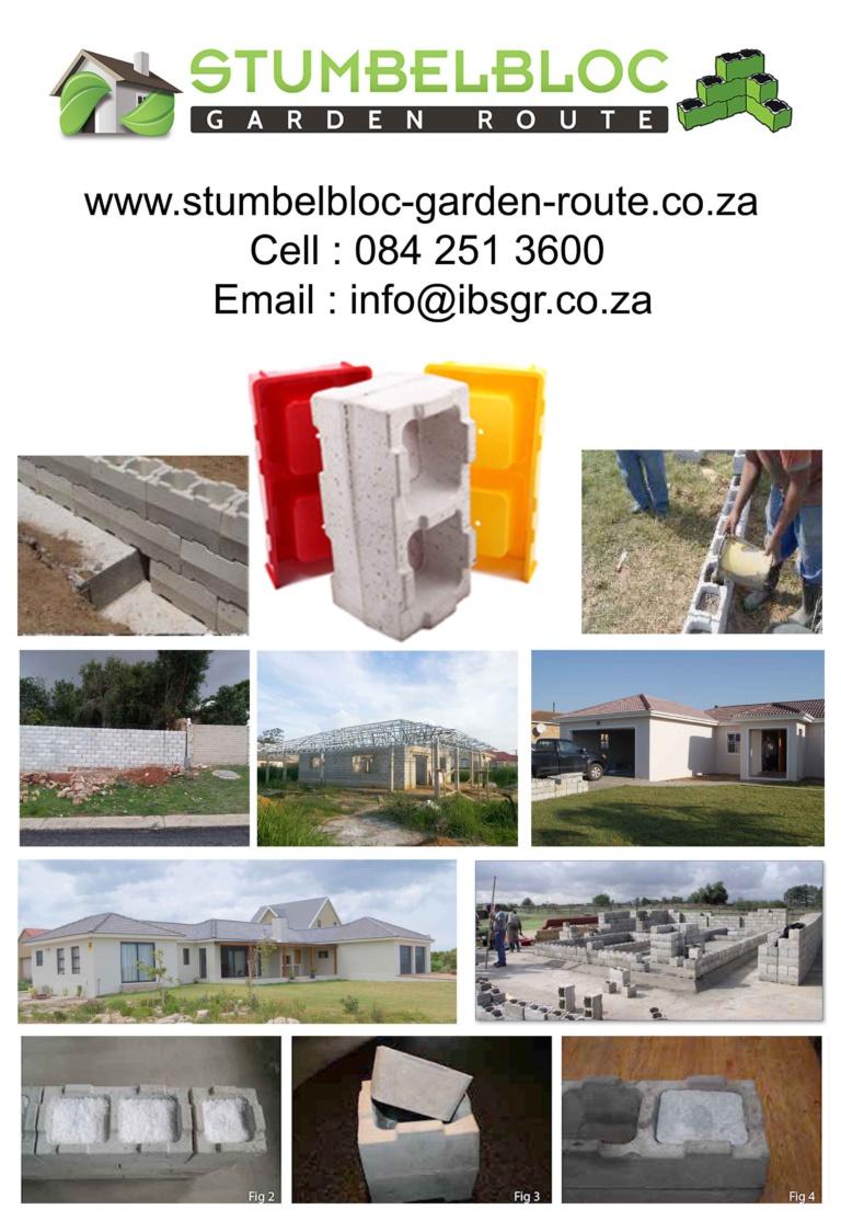 Building with Stumbelbloc Eden Developments www.edendevelopments.co.za