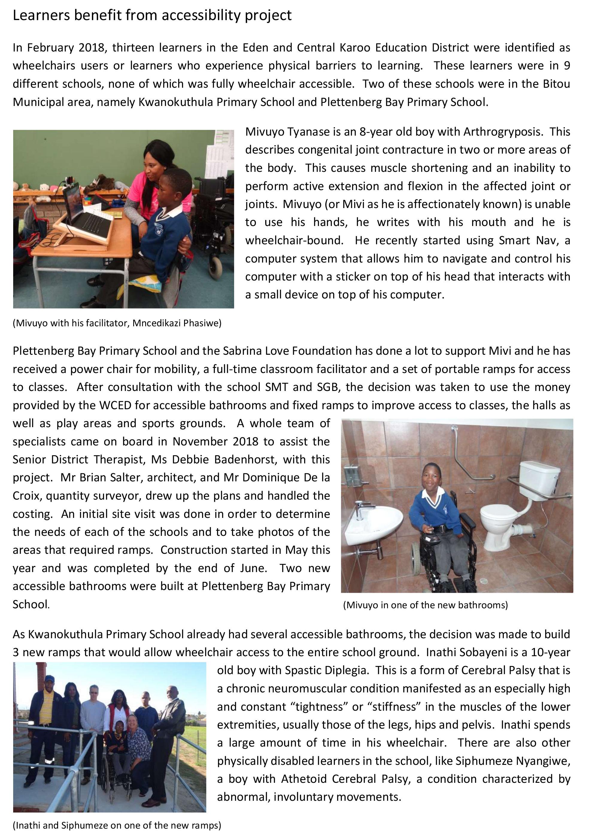 Current projects Eden Developments www.edendevelopments.co.za